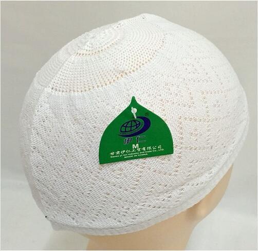 Fancy Muslim Men prayer caps Beanie Islamic Turkish Arabic knitted hat crochet taqiyah topi kufi caps