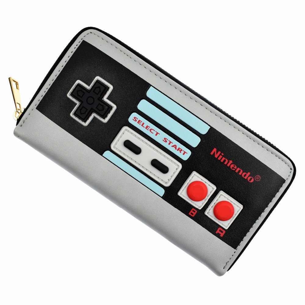 FVIP Hot Sell Game Nintendo Long Wallet 3D Touch Design Purse