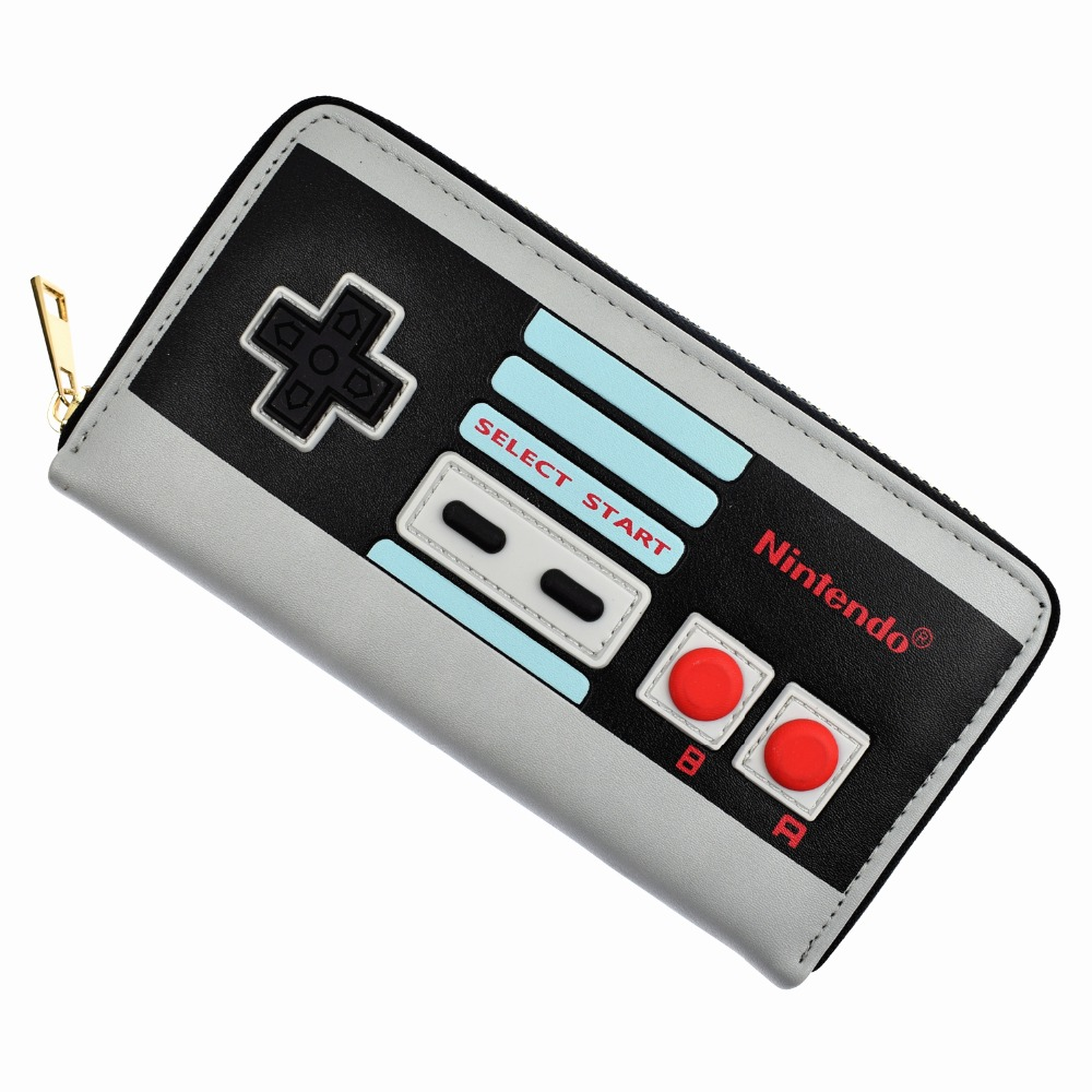 Hot Sell Game Nintendo Long Wallet 3D Touch Design Purse