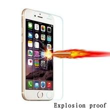 Explosion-proof Premium 0.26mm 9H HD Tempered Glass For iPhone 4 4S 5C SE 5S 6 6S 7 Plus 6Plus 6SPlus Screen Protector Film Case