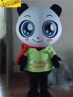 Fast Custom New Bear Panda Cartton Mascot Costumes Adult Size Costume By Express Free Shipping