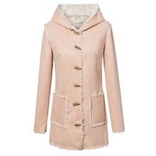 Free Shipping 2015 fashion New stylish women's Big Horn fur coats for fall/winter warm coat