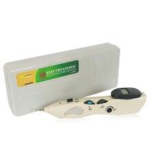 Цифровая Электрическая Акупунктура импульсное устройство Массажная ручка активация Меридиан облегчение боли в суставах указатель детектор ручка для иглоукалывания