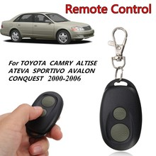 2 Buttons 303 Mhz Car Keyless Entry Fob Remote Control Fit for Toyota Camry Avalon 2000-2006