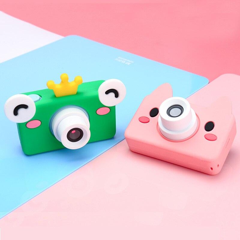 La cinquième génération de caméra numérique pour enfants appareil photo jouet mini dessin animé grenouille appareil photo jouet