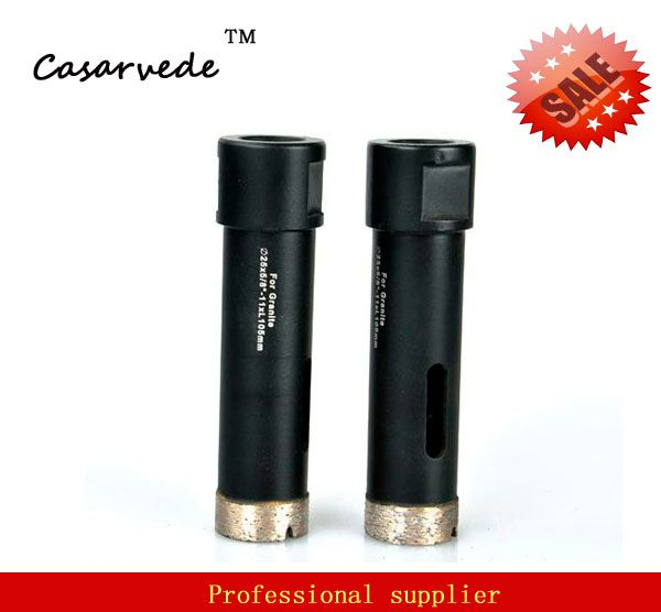 цена на 1 inch 25mm with 5/8-11 thread wet core drill bit for wet drilling stone