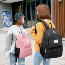 Korean version of the shoulder bag neutral men and women backpack large capacity splash-proof travel bag computer bag цена 2017