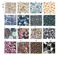 cotton quilt fabric set fat quarter liberty flower printed textile clothing material bedding fabric 100%cotton free shippin