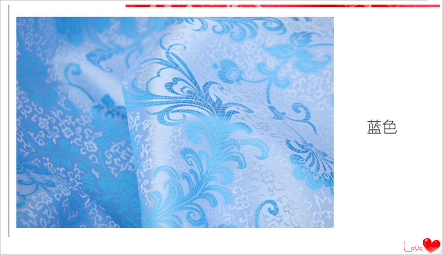 A2 Width 90cm Sewing Accessories Good Quality Brocade Silk Cloth