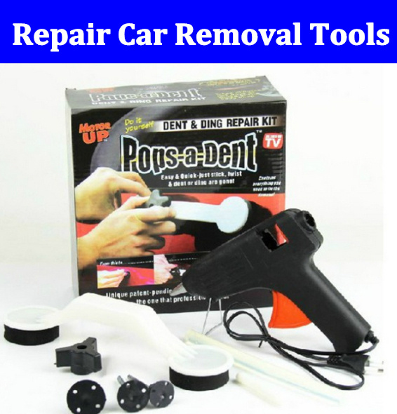 Color Box Pack Free Shipping Computer & Office New High Quality Car Tools Seen On Tv Pops A Dent Auto Body Dent Repair,car Removal Tools