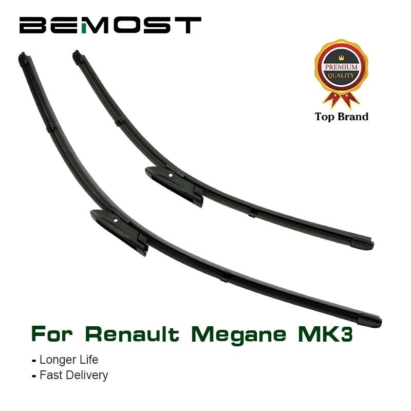 BEMOST Car Wiper Blades Rubber For Renault Megane MK3