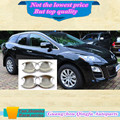 Высокое качество кузова автомобиля stying обложка детектор внешний палочки рама лампы отделка ABS chrome дверь только чаша для MAZDA cx7 cx-7 4 шт.
