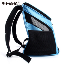 T-MENG Pet Backpack Dog Bags Cat Carrier Outdoor Bag Puppy Portable Travel Breathable Double Shoulder For Dogs