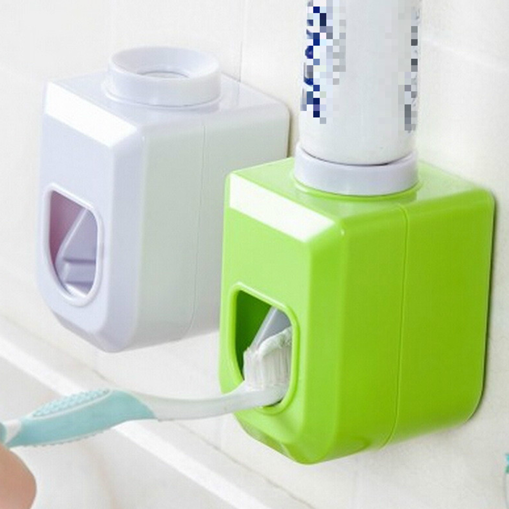 1PC Touch Automatic Auto Squeezer Toothpaste Dispenser Hands Free Squeeze out Automatic toothpaste squeezing device