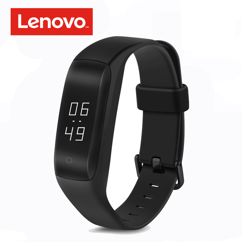 цена Lenovo HW01 Bluetooth 4.2 Smart Wristband Heart Rate Moniter Pedometer Sports Fitness Tracker for Android iOS Smart Band Android