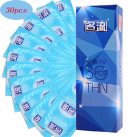Sex Condoms Dick Penis Sleeves Extender G Spot Fire Natural Latex Ultra Thin Lubricated Male Erotic Adult Sex Toys For Men 30PCS