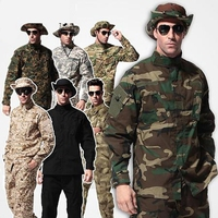 9 colors !! Camouflage suit sets Army Military uniform combat Airsoft uniform jacket + pants Army uniform