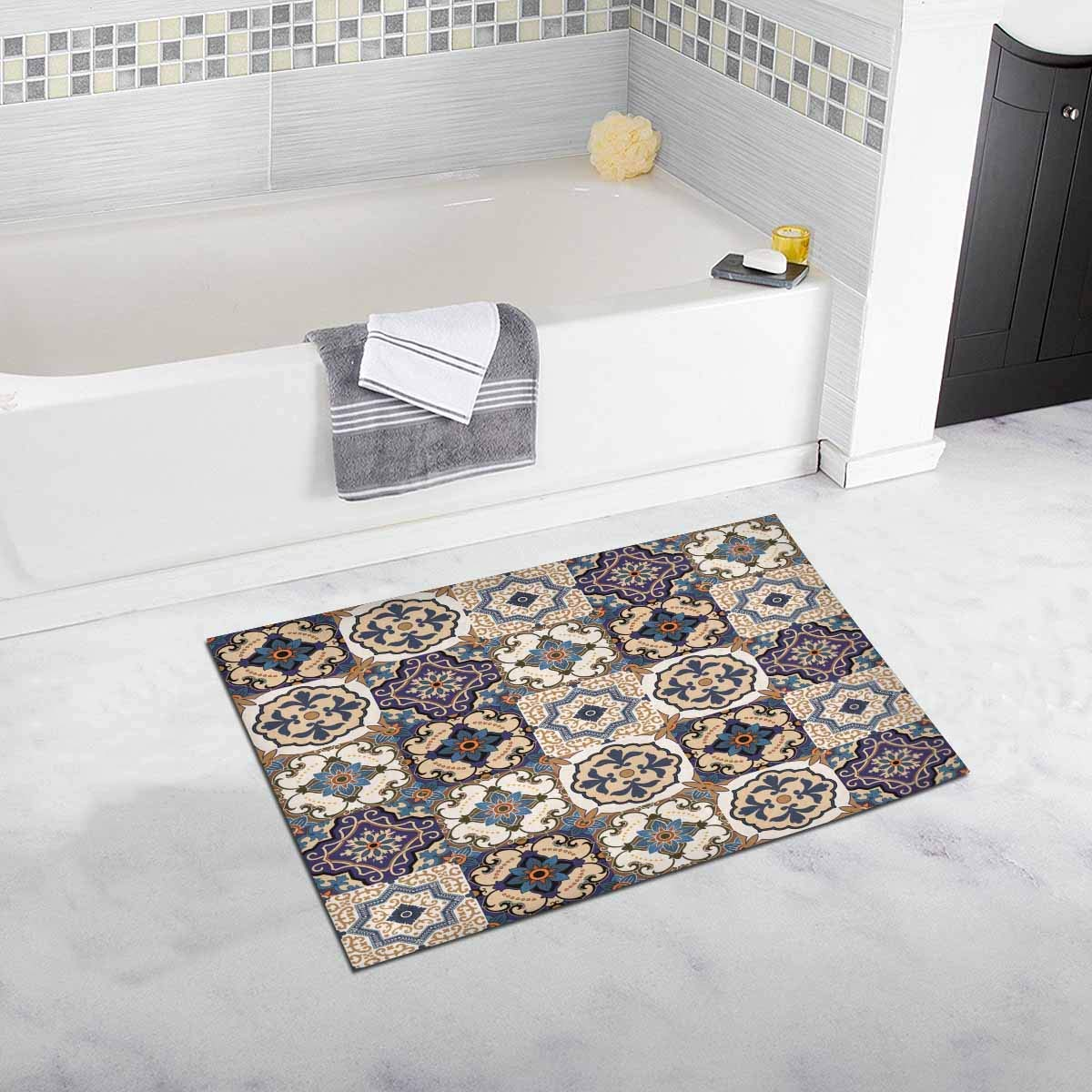 Gorgeous Patchwork Moroccan Tile Door Mats Kitchen Floor