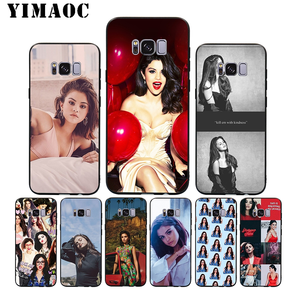 YIMAOC A49 Selena Gomez Sad Song Soft Silicone Case for Samsung Galaxy S9 S8 A6 Plus 2018 S7 S6 Edge A5 A3 2017 2016 Note 8 9 image