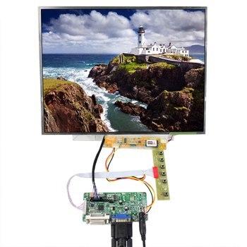 DVI VGA LCD Driver Board 15inch 1024x768 B150XG03 LP150XG08 N150XB LCD Screen