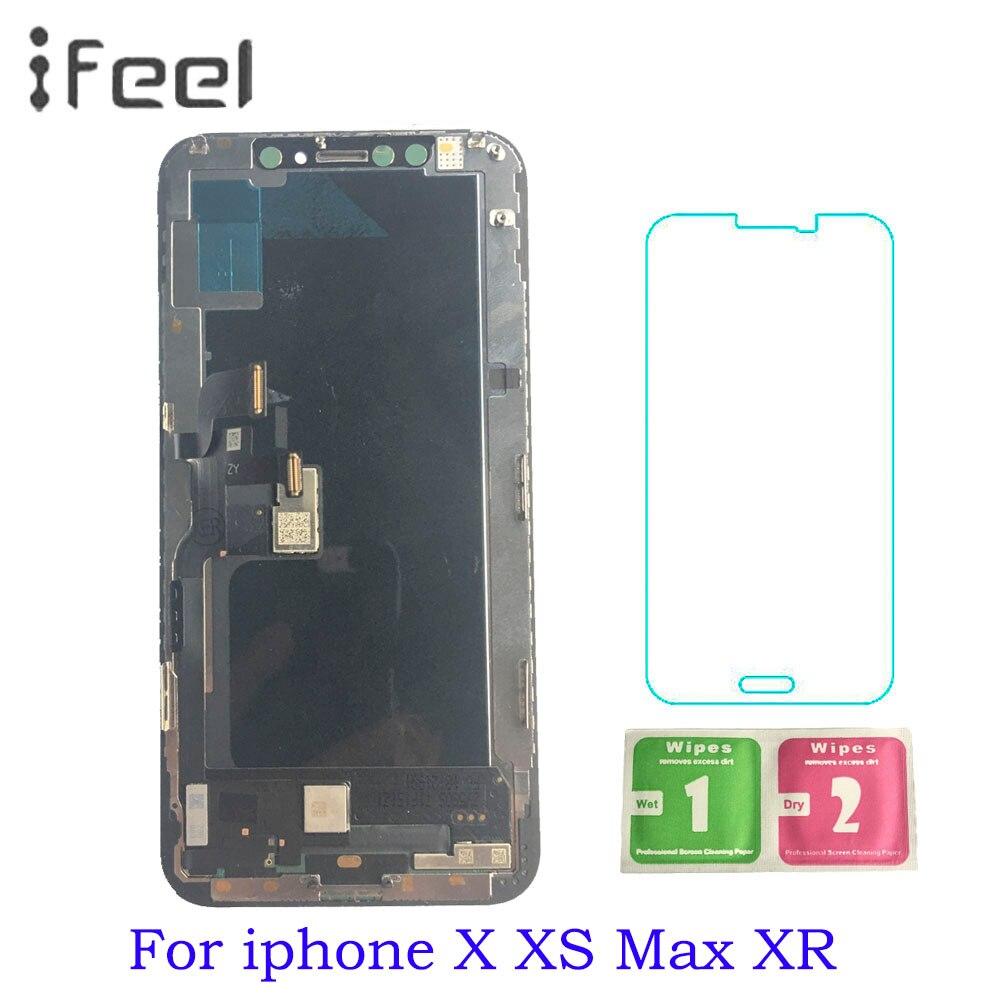 Pour iphone X LCD Assemblée D'écran Pour iphone X XS Max XR LCD Affichage Pour Tianma AMOLED OEM Avec Digitizer alibaba Express