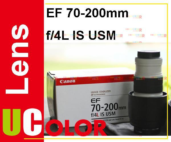 New Canon EF 70-200mm F4 L IS USM Telephoto Zoom Lens бленд canon et 74 et74 ef70 200 f 4 is