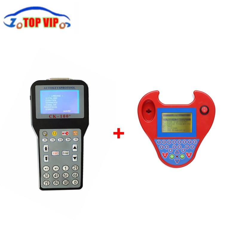 DHL Free A++ Quality Smart Mini Zed Bull Key Transponder+ CK100 Auto Key Programmer Newest Generation SBB Smart Mini Zedbull full set sbb mini zed bull key programmer v33 02 sbb v508 smart zedbull auto key pro maker transponder no tokens dhlfree
