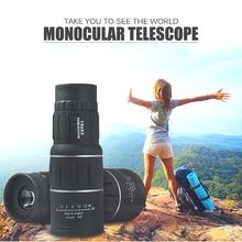 цены HD Telescope Camera 16X52 BAK4 Hunting Monocular Zoom Travel High Power Magnification Quality Binoculars Bird Watching Spyglass