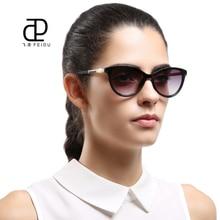 FEIDU 2017 New Fashion Cat Eye Sunglasses Women Luxury Brand Designer Vintage Sun Glasses For Female Retro Eyewear Oculos De Sol