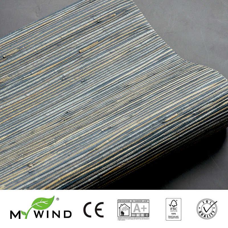 3D טפטים עיצובים משרד טלוויזיה טבעי נוף דקורטיבי טפט שחור 2019 שלי רוח Grasscloth טפט ים דשא