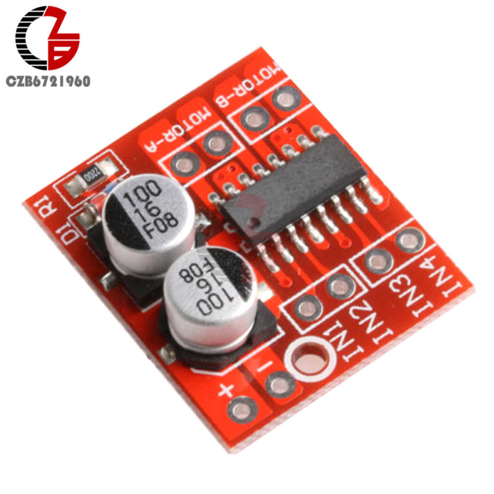 1.5A 2-way DC Motor Driver Module PWM Speed Dual H-Bridge Stepper L298N