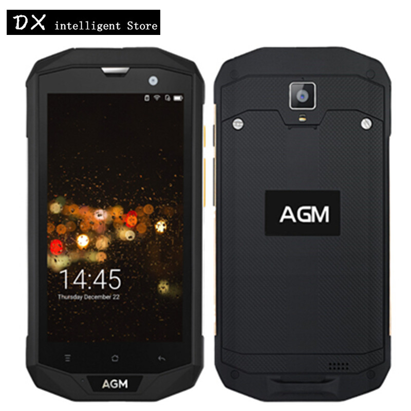 AGM A8 4G IP68 Waterproof Shockproof Mobile Phone 5 0 HD MS8916 Quad Core Android 7
