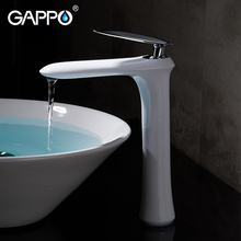 GAPPO смеситель для раковины бортике смеситель для ванной в форме водопада Ванная комната воды бассейна смеситель, раковина кран смеситель для ванной комнаты кран Torneira