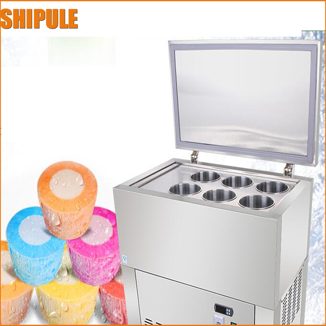 2017 commercial Stainless Steel Automatic Ice Tube Machine/ Ice Block Machine/ Continuous Ice Machine