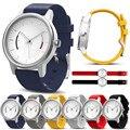 Faixa de relógio 22mm pulseira de silicone macio substituição faixa de relógio colorido para garmin vivomove design de moda 2016 nova venda quente