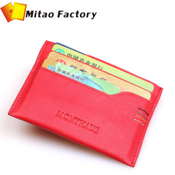 2013 Hot Selling Wholesale Birthday Gift 100% Genuine Leather Book Business Card Case Holders Free Shipping Dropshipper