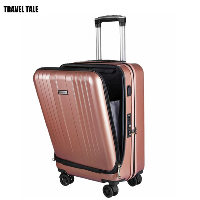 TRAVEL TALE PC spinner busy board suitcase 20