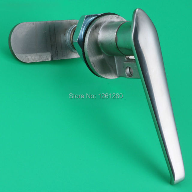 free shipping electrical cabinet door handle knob Cam lock ...