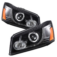 Vland Fit For Highlander Kluger LED Headlight Waterproof 2000 2007 Car Styling Headlamp
