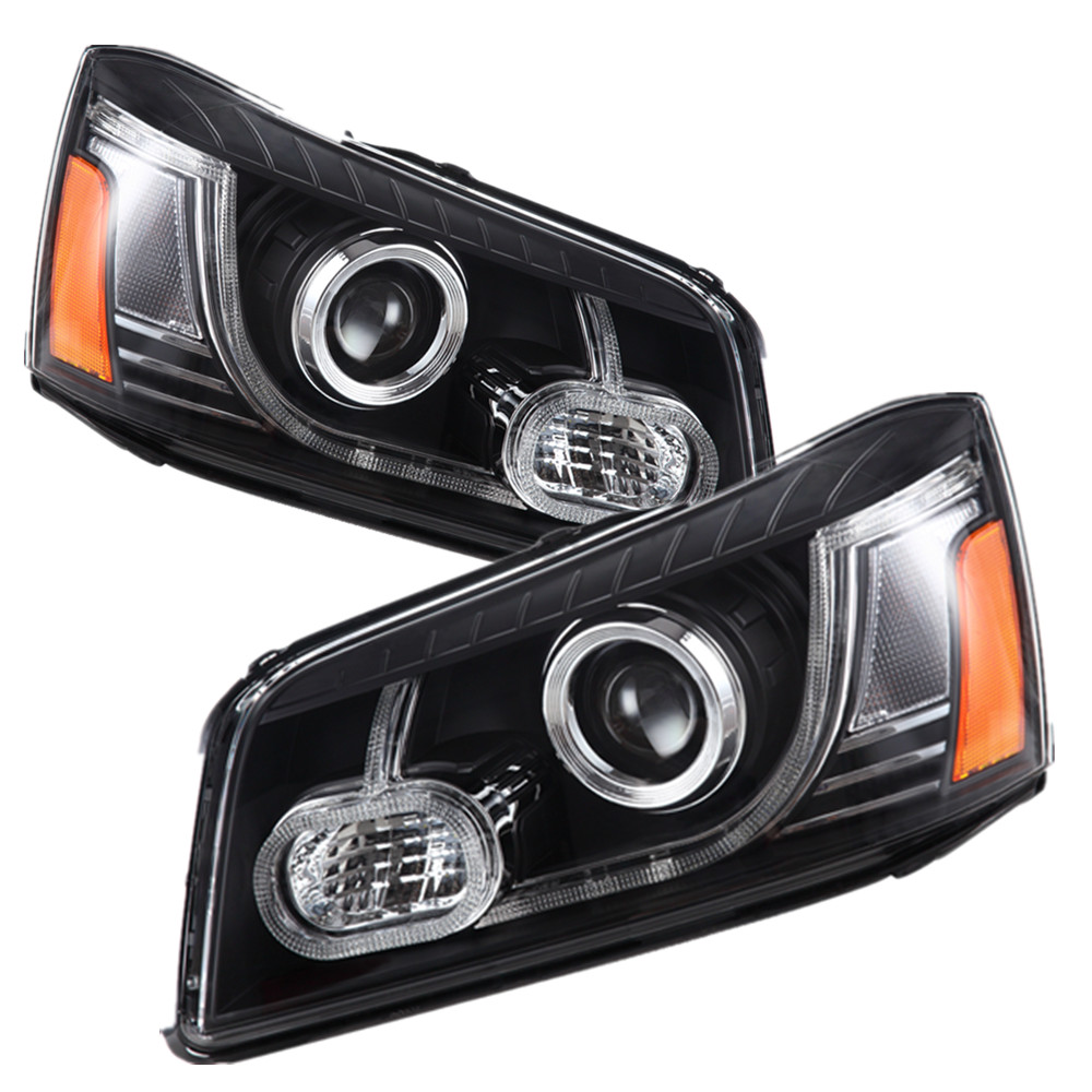 Free shipping China VLAND factory for Highlander LED Headlight  2000 2001 2002 2003 2004 2005 2006 2007 plug and play free shipping vland factory car parts for camry led taillight 2006 2007 2008 2011 plug and play car led taill lights