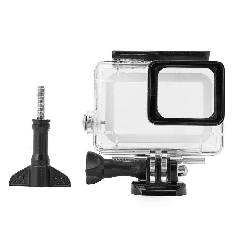 OOTDTY Underwater 45m Protective Waterproof Shell Case House for Gopro hero 5 Sport Cam