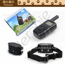 Heropie Pet Dog Training Collar Rechargeable And Waterproof Shock Vibra Remote Control LCD Electric Collar