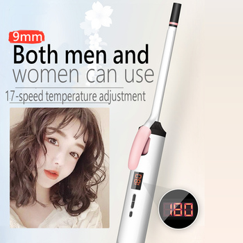 bed head hair curler c 901a electric hair straightener flat iron with styling curler curling brush pink hair wand 2016 new LCD Professional Curling Iron Hair Curler Hair Crimper Curling Wand Flat Iron Beard Straightener Hair Straightener Hair Styling
