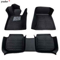 Yuzhe Custom Car Floor Mats For Volkswagen Vw Golf Polo Tiguan Beetle Bora Magotan Leather 3d
