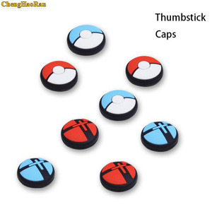 Image 2 - 1pcs Silicone Analog Controller Stick Grips for Nintend Switch NS Controller Skin Joy Con Caps Controller Cover
