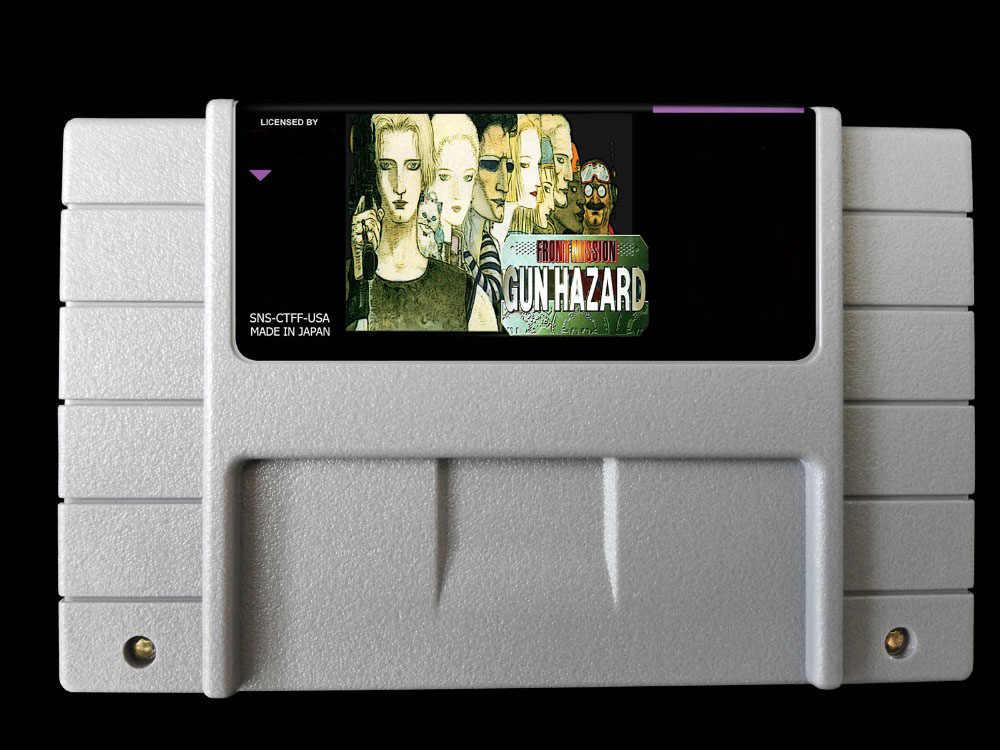 16bit Games Front Mission Gun Hazard Usa Version English