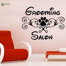YOYOYU Wall Decal Animal Vinyl Sticker Grooming Salon Art Home Decoration Petshop Removeable Vinilos Paredes YO287