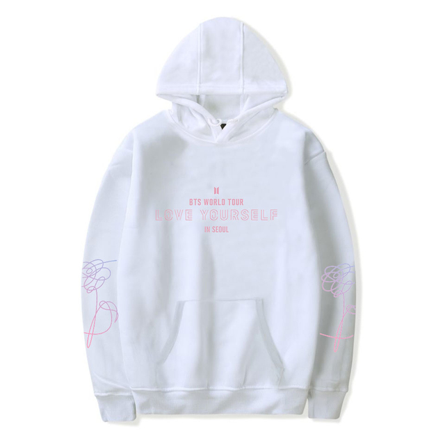 BTS WORLD TOUR LOVE YOURSELF IN SEOUL HOODIE (6 VARIAN)