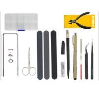 15Pcs for Gundam Model Tools Kit Modeler Basic Tools Craft Set Hobby Building Tools Kit