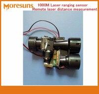 Fast Free Shipping Laser Ranging Sensor Pulse Laser Ranging Remote Laser Distance Measurement 1000 Meters